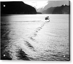 Indian Arm Glacial Fjord - British Columbia Acrylic Print by Carol Cottrell