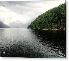Indian Arm Twin Islands - British Columbia Acrylic Print by Carol Cottrell