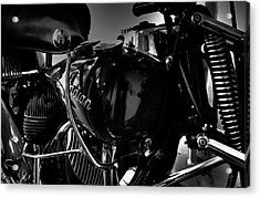 Indian Motorcycle II Acrylic Print by David Patterson
