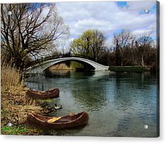 Indian River Acrylic Print by Michael Rucker
