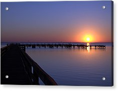 Indian River Sunrise Acrylic Print by Brian Harig
