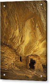 Indian Ruins In Southern Utah Acrylic Print by Susan  Schmitz