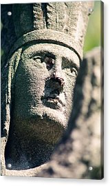 Indian Statue Acrylic Print by Retro Images Archive