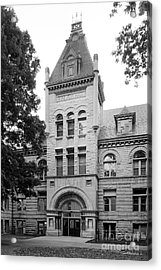 Indiana University Kirkwood Hall Acrylic Print by University Icons