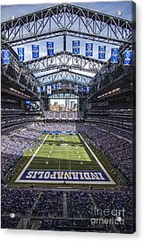 Indianapolis Colts 2 Acrylic Print by David Haskett