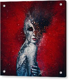 Indifference Acrylic Print by Mario Sanchez Nevado