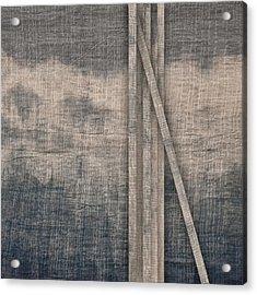 Indigo Crossing 2 Acrylic Print by Carol Leigh