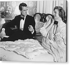 Indiscreet  Acrylic Print by Silver Screen