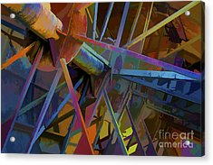 Industrial Light And Magic Acrylic Print by Gary Holmes