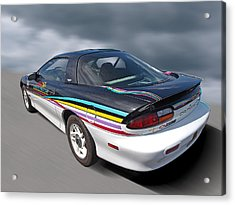 Indy 500 Pace Car 1993 - Camaro Z28 Acrylic Print by Gill Billington