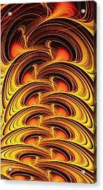 Inferno Acrylic Print by Anastasiya Malakhova