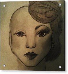 Infinite Beauty Acrylic Print by Megan Jenkins