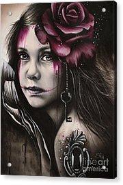Inner Child Acrylic Print by Sheena Pike