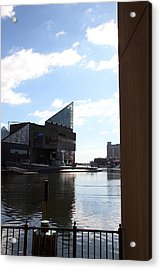 Inner Harbor At Baltimore Md - 12125 Acrylic Print by DC Photographer