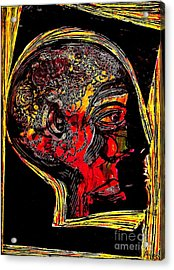 Inner Man Acrylic Print by Sarah Loft