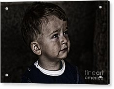 Innocent Acrylic Print by Zafer GUDER