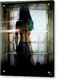 Inside Or Outside Acrylic Print by Gun Legler