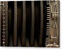 Inside The Engine Acrylic Print by Christi Kraft