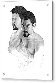 Intense Stare Acrylic Print by Joe Olivares
