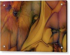 Intensity In Glass Acrylic Print by Omaste Witkowski
