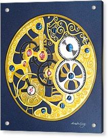 Internal Mechanisms Acrylic Print by Nina Shilling