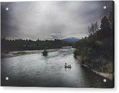 Into The Great Wide Open Acrylic Print by Laurie Search