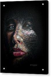 Into The Light Acrylic Print by Frank Robert Dixon