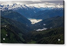 Into The Wild Acrylic Print by Mike Reid