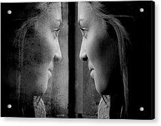 Introspection Acrylic Print by Lisa Knechtel