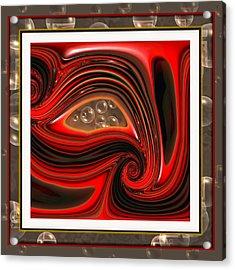 Introspection Acrylic Print by Wendy J St Christopher