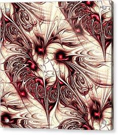 Invasion Acrylic Print by Anastasiya Malakhova
