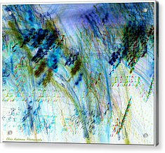 Inverted Light Abstraction Acrylic Print by Chris Anderson