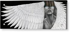 Inward Flight Acrylic Print by Pat Erickson