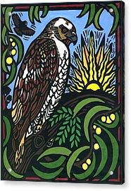 Io Hualalai Acrylic Print by Lisa Greig