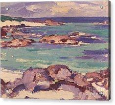 Iona Acrylic Print by Samuel Peploe