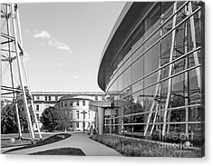 Iowa State University Hoover Hall Acrylic Print by University Icons