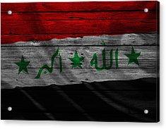 Iraq Acrylic Print by Joe Hamilton