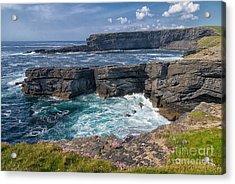 Irish Cliffs Acrylic Print by Juergen Klust