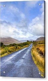 Irish Countryside Of Connemara Acrylic Print by Mark Tisdale