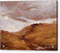 Irish Landscape I Acrylic Print by John Silver