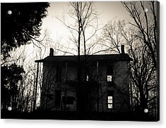 Is Anybody Home Acrylic Print by Off The Beaten Path Photography - Andrew Alexander