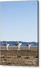 Is There Something Out There Acrylic Print by Steven Ralser
