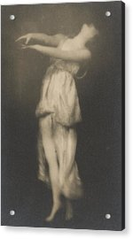 Isadora Duncan   Dancer Acrylic Print by Arnold Genthe