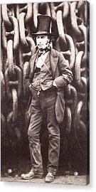 Isambard Kingdom Brunel  Acrylic Print by Robert Howlett