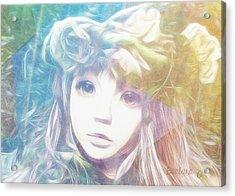 Isangelle Clariscendre Acrylic Print by Barbara Orenya