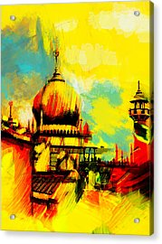 Islamic Painting 001 Acrylic Print by Catf
