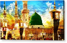 Islamic Paintings 005 Acrylic Print by Catf