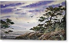Island Sunset Acrylic Print by James Williamson