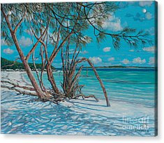 Island Time Acrylic Print by Danielle  Perry