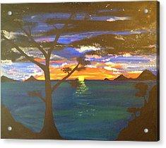 Island View Acrylic Print by Scott Wilmot